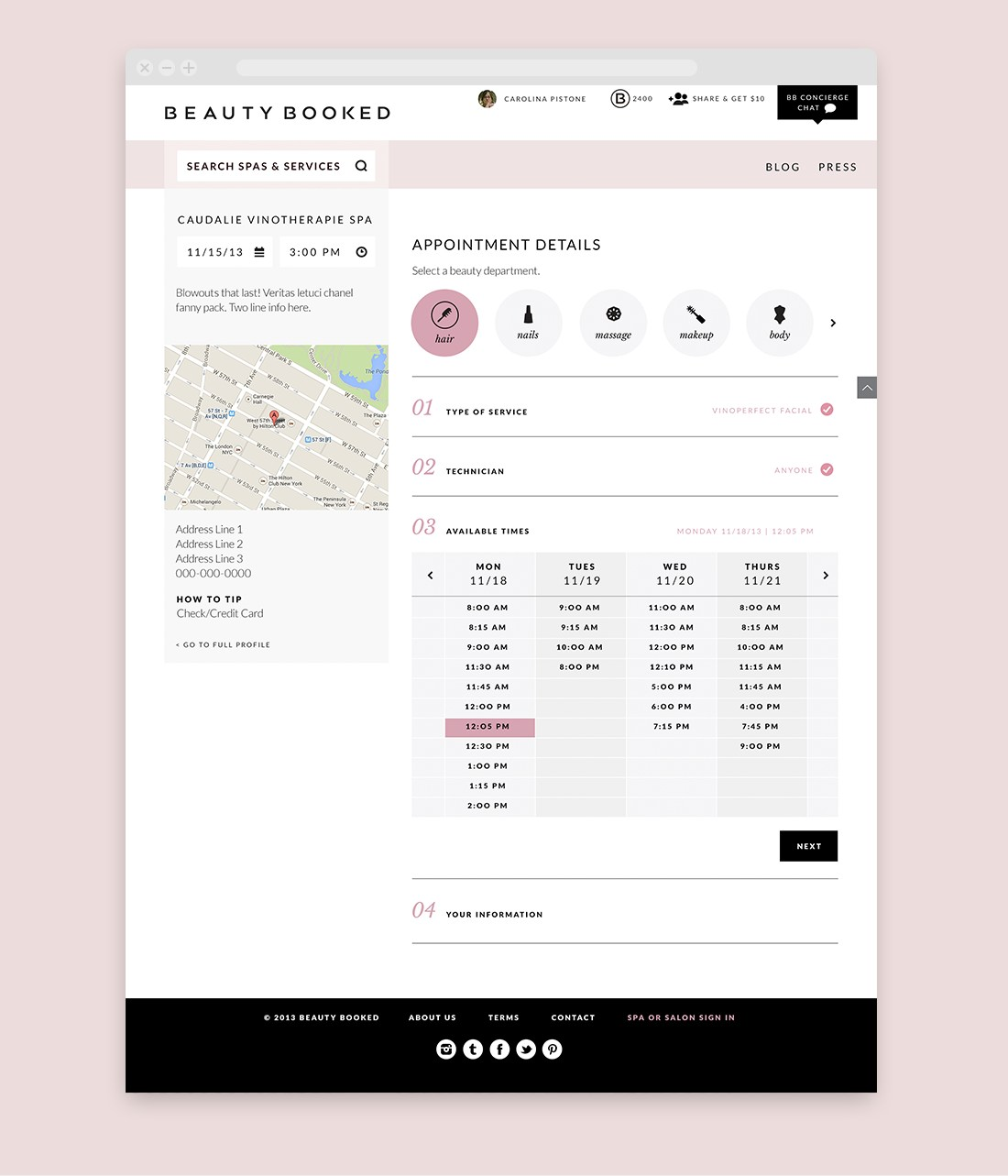 Beauty Booked | Bartlett Brands