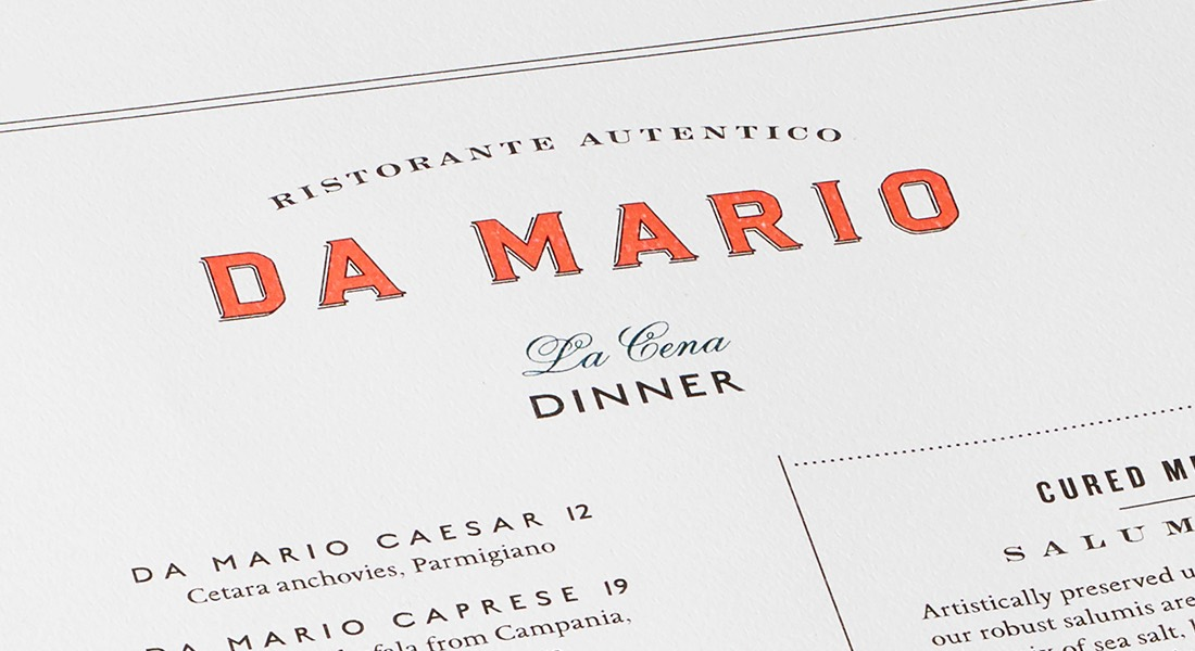 Da Mario Branding + Design | Bartlett Brands