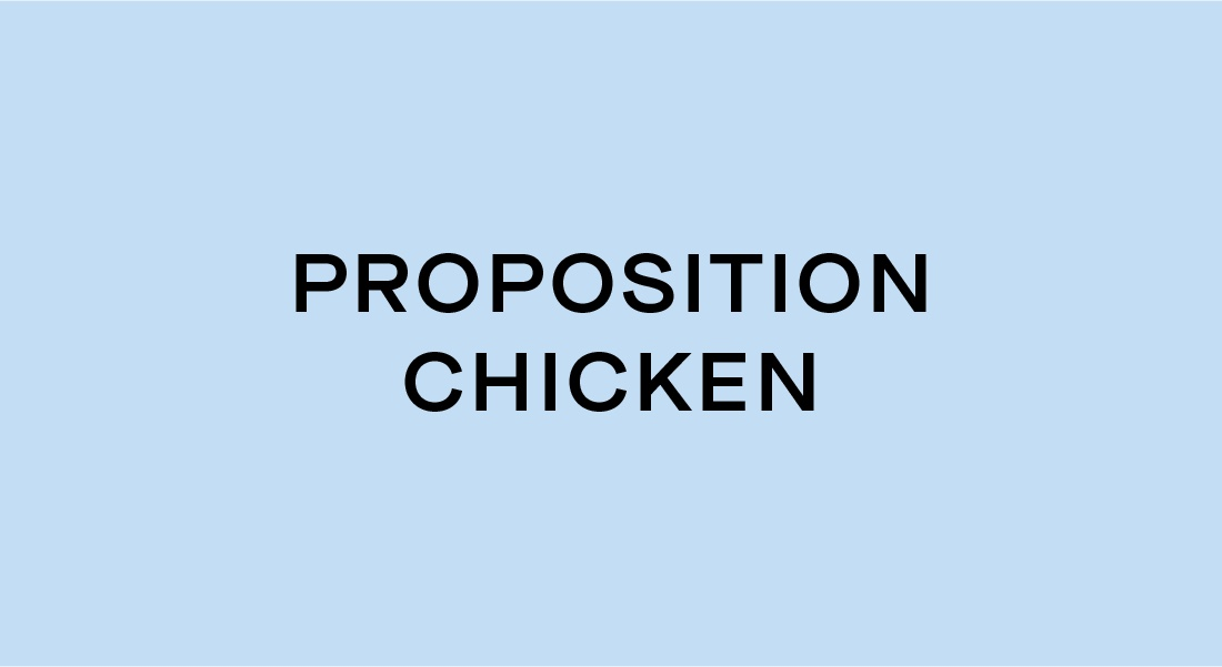 Proposition Chicken Naming | Bartlett Brands